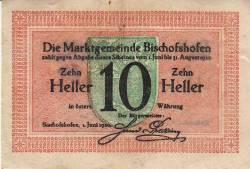 Image #1 of 10 Heller 1920 - Bischofshofen