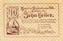 10 Heller 1921 - Gutenbrunn