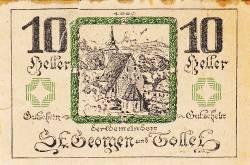 Image #1 of 10 Heller 1921 - Sankt Georgen and Tollet