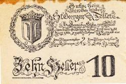 Image #2 of 10 Heller 1921 - Sankt Georgen and Tollet