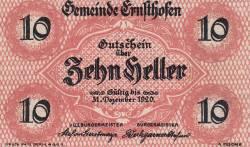 Imaginea #1 a 10 Heller 1920 - Ernsthofen
