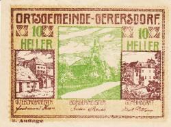 Imaginea #1 a 10 Heller ND - Gerersdorf (A II-a emisiune - 2. Auflage)