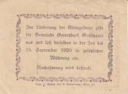 Imaginea #2 a 10 Heller ND - Gerersdorf (A II-a emisiune - 2. Auflage)