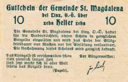 10 Heller ND - Sankt Magdalena