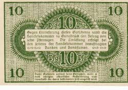 Image #2 of 10 Pfennig 1921 - Osnabrück