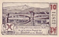 Image #2 of 10 Pfennig 1921 - Saalfeld/Saale