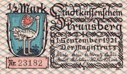 Image #1 of 1/2 Mark 1921 - Krausberg
