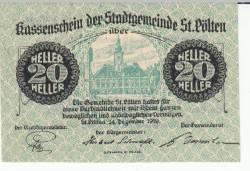 Image #1 of 20 Heller 1919 - Sankt Pölten