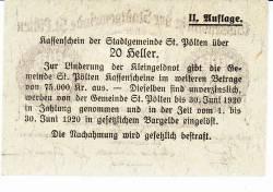 Image #2 of 20 Heller 1919 - Sankt Pölten