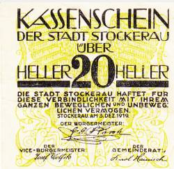 Image #1 of 20 Heller 1919 - Stockerau