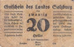 Image #1 of 20 Heller 1919 - Land Salzburg