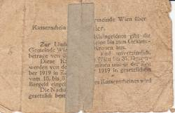 Imaginea #2 a 20 Heller 1919 - Viena
