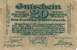 Imaginea #1 a 20 Heller 1919 -  Steiermark