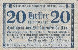 Image #1 of 20 Heller 1919 - Linz