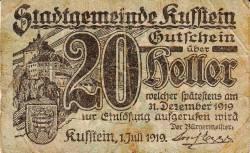 Image #1 of 20 Heller 1919 - Kufstein