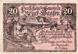 Image #1 of 20 Heller 1920 - Bruck-Waasen