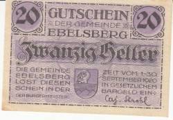 Imaginea #1 a 20 Heller ND - Ebelsberg
