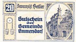 Imaginea #1 a 20 Heller 1920 - Emmersdorf