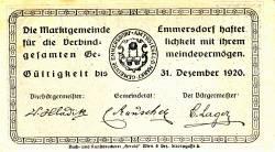 Imaginea #2 a 20 Heller 1920 - Emmersdorf