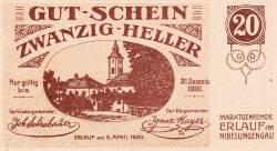 Imaginea #1 a 20 Heller 1920 - Erlauf