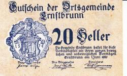 Imaginea #1 a 20 Heller 1920 - Ernstbrunn