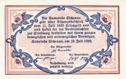 Imaginea #2 a 20 Heller 1920 - Eschenau im Pinzgau