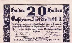Image #1 of 20 Heller 1920 - Freistadt