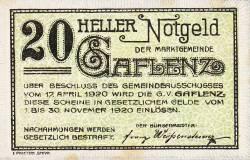 Image #1 of 20 Heller 1920 - Gaflenz