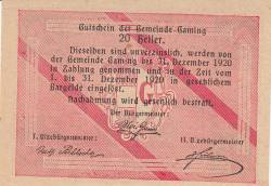 Imaginea #2 a 20 Heller 1920 - Gaming