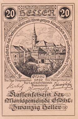 Image #1 of 20 Heller 1920 - Gföhl