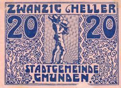 Image #1 of 20 Heller 1920 - Gmunden