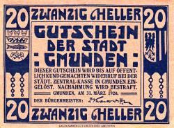 Image #2 of 20 Heller 1920 - Gmunden