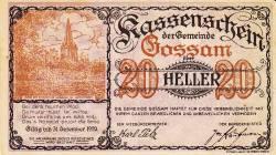 Imaginea #1 a 20 Heller 1920 - Gossam