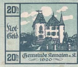 Image #1 of 20 Heller 1920 - Kematen an der Krems