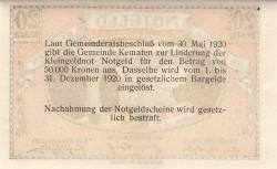 Imaginea #2 a 20 Heller 1920 - Kematen