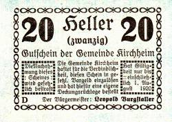 Image #1 of 20 Heller 1920 - Kirchheim