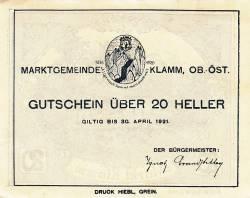 Image #2 of 20 Heller 1920 - Klamm