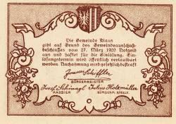 Imaginea #2 a 20 Heller 1920 - Klaus
