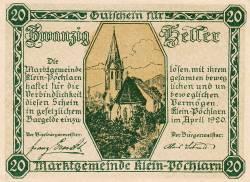 Imaginea #2 a 20 Heller 1920 - Klein-Pöchlarn
