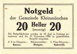 Image #2 of 20 Heller 1920 - Kleinmünchen
