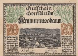 20 Heller 1920 - Krummnußbaum