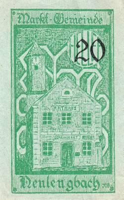 Imaginea #2 a 50 Heller 1920 - Neulengbach