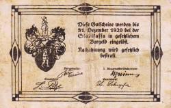 Imaginea #2 a 20 Heller 1920 - Rottenmann