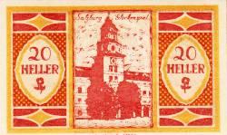 Imaginea #1 a 20 Heller 1920 - Salzburg