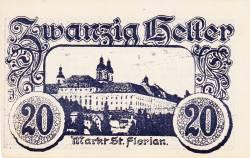 Imaginea #1 a 20 Heller 1920 - Sankt Florian