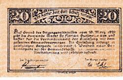 Imaginea #2 a 20 Heller 1920 - Sankt Florian