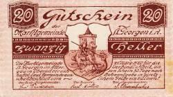 Image #1 of 20 Heller 1920 - Sankt Georgen im Attergau