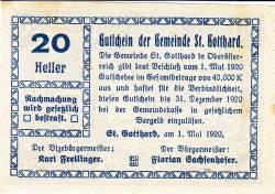 Image #2 of 20 Heller 1920 - Sankt Gotthard