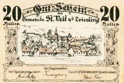Image #1 of 20 Heller 1920 - Sankt Veit an der Triesting