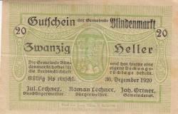 Image #1 of 20 Heller 1920 - Blindenmarkt